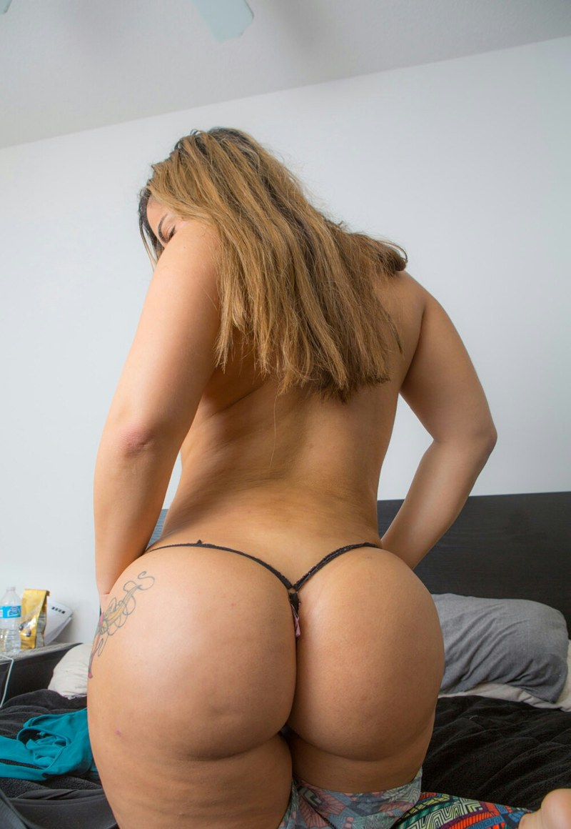 Big butt thong