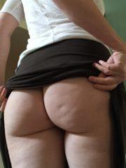 Showing ass